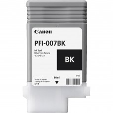 PFI-007BK Canon Dye Black Ink Tank - 90ml