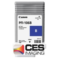 PFI-106B Canon Dye Blue Ink Tank - 130ml
