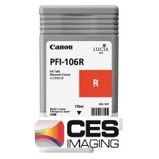 PFI-106R Canon Dye Red Ink Tank - 130ml