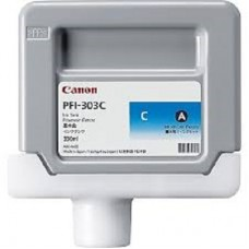 PFI-303C Canon Dye Cyan Ink Tank - 330ml
