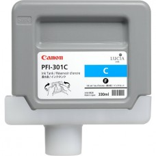 PFI-301C Canon Pigment Cyan Ink Tank - 300ml