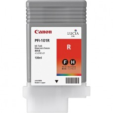 PFI-101R Canon Pigment Red Ink Tank - 130ml