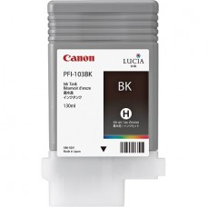 PFI-103BK Canon Pigment Black Ink Tank - 130ml