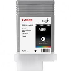 PFI-103MBK Canon Pigment Matte Black Ink Tank - 130ml