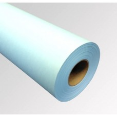 "2 Rolls 24""x500' 20lb Blue Tinted Bond Paper - 3"" core"