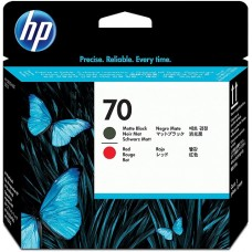 HP Black & Red #70 PrintHead - C9409A