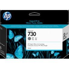 HP Gray #730 Ink Cartridge - 300ml - P2V72A