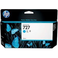 HP Cyan #727 Ink Cartridge - 130ml - B3P19A