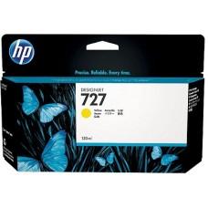 HP Yellow #727 Ink Cartridge - 130ml - B3P21A