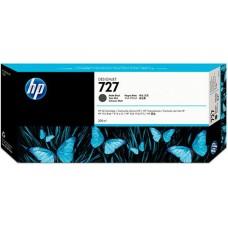 HP Matte Black #727 Ink Cartridge - 300ml - C1Q12A