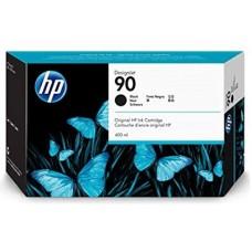 HP Black #90 Ink Cartridge - 400ml, C5058A