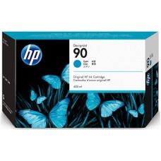 HP Cyan #90 Ink Cartridge - 400ml, C5061A
