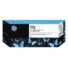 HP Light Magenta #772 Ink Cartridge - 300ml - CN631A