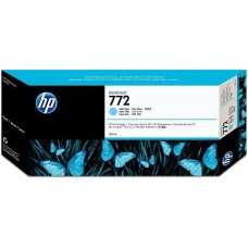 HP Light Cyan #772 Ink Cartridge - 300ml - CN632A