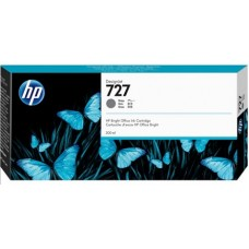 HP Gray #727 Ink Cartridge - 300ml - F9J80A