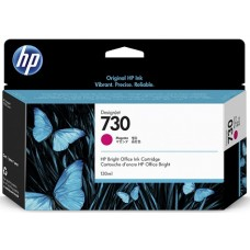 HP Magenta #730 Ink Cartridge - 130ml - P2V63A