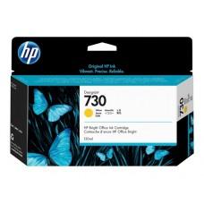 HP Yellow #730 Ink Cartridge - 130ml - P2V64A