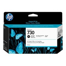 HP Photo Black #730 Ink Cartridge - 130ml - P2V67A