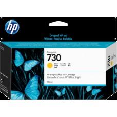 HP Yellow #730 Ink Cartridge - 300ml - P2V70A