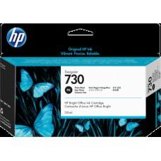 HP Photo Black #730 Ink Cartridge - 300ml - P2V73A