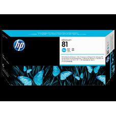 HP Cyan #81 PrintHead for DesignJet 5000 Series - DYE, C4951A