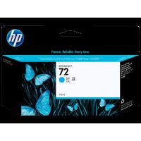 HP Cyan #72 Ink Cartridge - 130ml