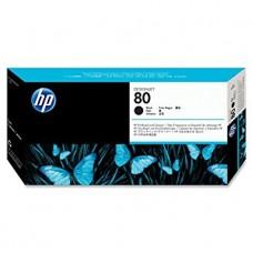 HP Black #80 PrintHead for DesignJet 1000 Series - C4820A