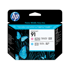 HP #91 Lt Magenta & Lt Cyan PrintHead - C9462A