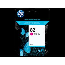 HP Magenta #82 Ink Cartridge for DesignJet 500 & 800 - 69ml, C4912A