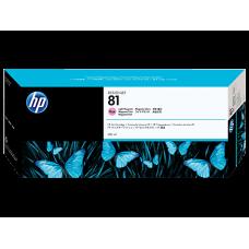 HP Lt Magenta #81 Ink Cartridge for DesignJet 5000 Series - 680ml - DYE, C4935A