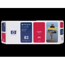 HP Magenta #83 Ink Cartridge for DesignJet 5000 Series - 680ml - UV, C4942A