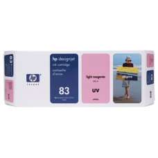 HP Lt Magenta #83 Ink Cartridge for DesignJet 5000 Seried - 680ml - UV, C4945A