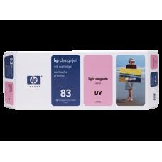 HP Lt Magenta #83 Ink Cartridge for DesignJet 5000 Seried - 680ml - UV, C4945A