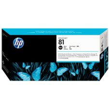 HP Black #81 PrintHead for DesignJet 5000 Series - DYE, C4950A