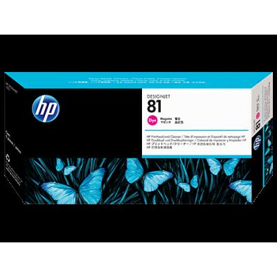 HP Magenta #81 PrintHead for DesignJet 5000 Series - DYE