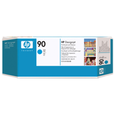 HP Cyan #90 PrintHead & Cleaner - C5055A
