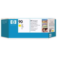 HP Yellow #90 PrintHead & Cleaner - C5057A