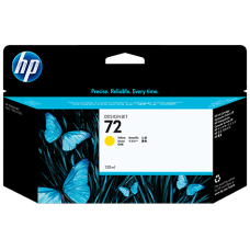 HP Yellow #72 Ink Cartridge - 130ml - C9373A
