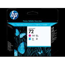 HP Magenta & Cyan #72 PrintHead - C9383A