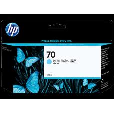 HP Lt Cyan #70 Ink Cartridge - 130ml - C9390A