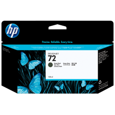 HP Matte Black #72 Ink Cartridge - 130ml - C9403A