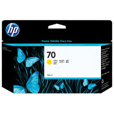 HP Yellow #70 Ink Cartridge - 130ml - C9454A