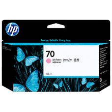 HP Lt Magenta #70 Ink Cartridge - 130ml - C9455A